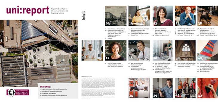 Campus-Magazin uni-report Juni 2019