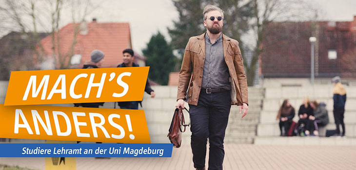 Mach's anders! Studiere Lehramt (Video)