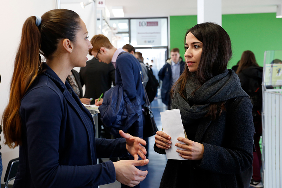 Firmenkontaktmesse der Universität Magdeburg